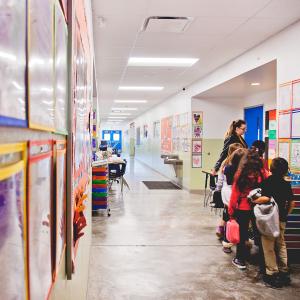 Leading Edge Academy Maricopa Hallway